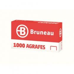 AGRAFE BRUNEAU BÉBÉ 8/4 CUIVRÉE - BOÎTE DE 1000
