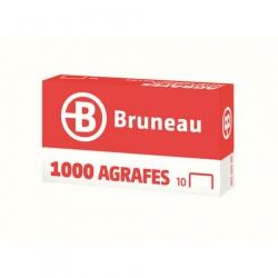 AGRAFE BRUNEAU N°10 GALVANISÉE - BOÎTE DE 1000