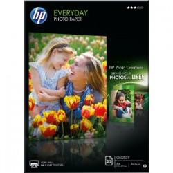 Hp everyday photo paper - papier - papier semi-brillant - A4 (210 x 297 mm) - 200 g/m2 - 25pc.