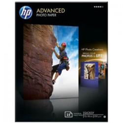 Papier HP photo brillant - 130 x 180 mm - 25 feuilles